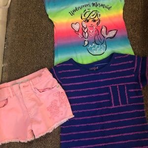 Girls 3 piece clothing lot